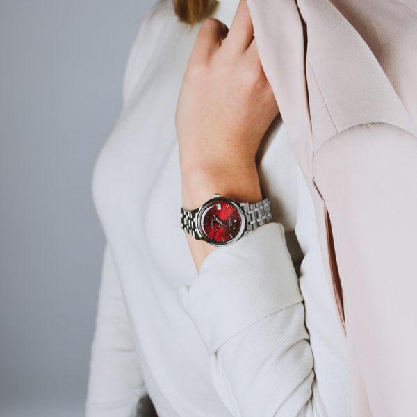 Женские наручные часы SEIKO Presage Cocktail Time Kir Royal SRP853J1 - Фото № 11