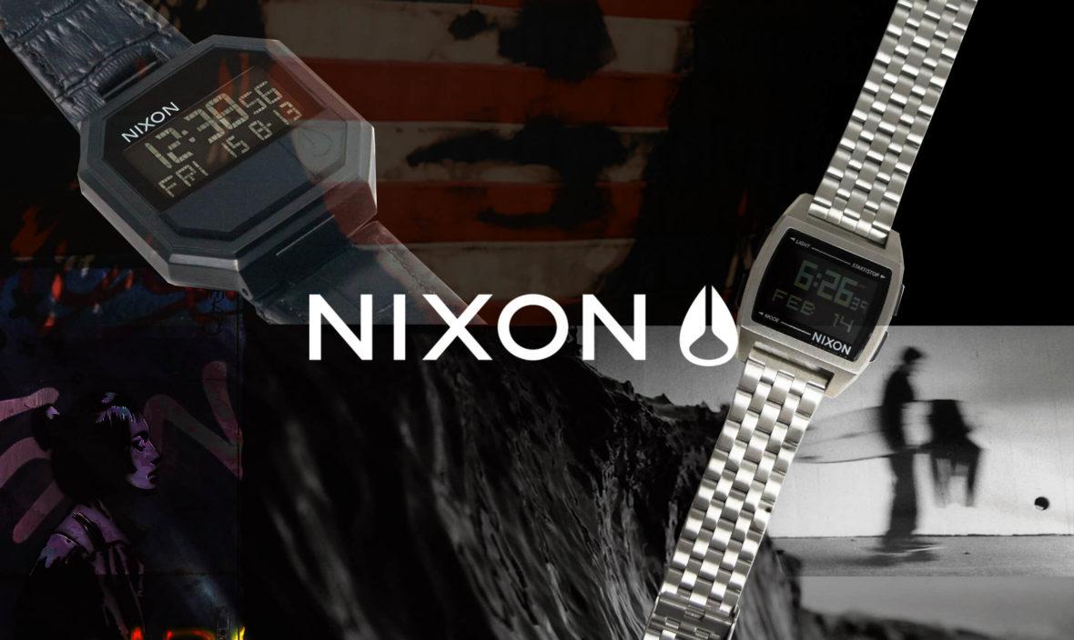 электронные часы никсон