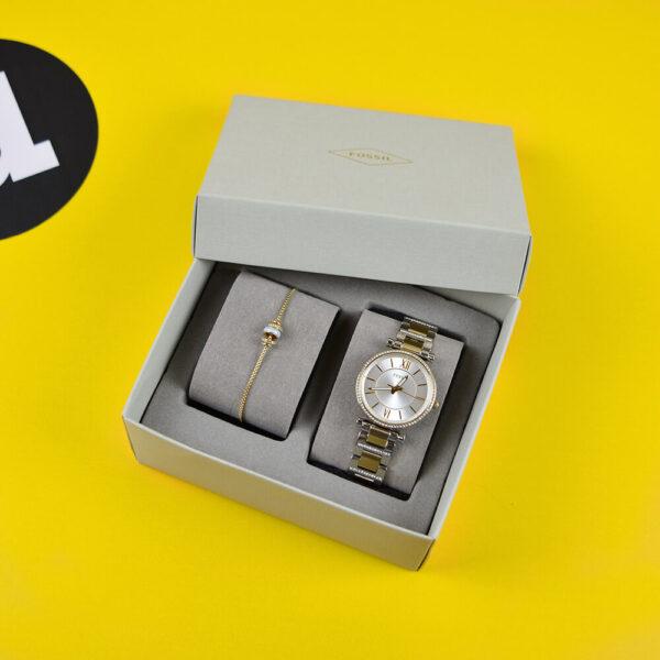 Женские наручные часы FOSSIL Carlie ES4517SET - Фото № 6