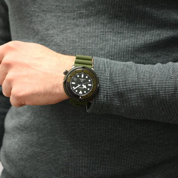 Мужские наручные часы SEIKO Prospex Tuna Street Series SNE535P1 - Фото № 12