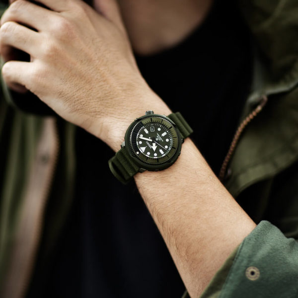 Мужские наручные часы SEIKO Prospex Tuna Street Series SNE535P1 - Фото № 9