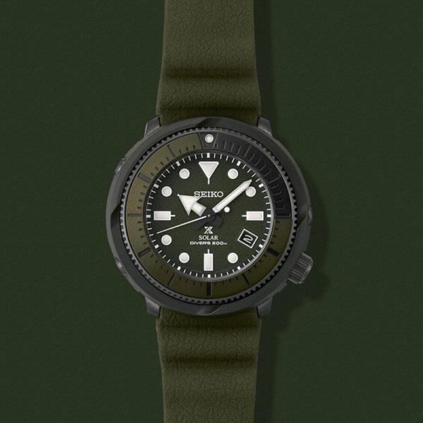 Мужские наручные часы SEIKO Prospex Tuna Street Series SNE535P1 - Фото № 11