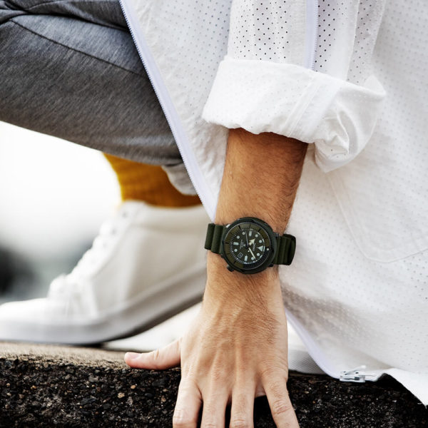 Мужские наручные часы SEIKO Prospex Tuna Street Series SNE535P1 - Фото № 10