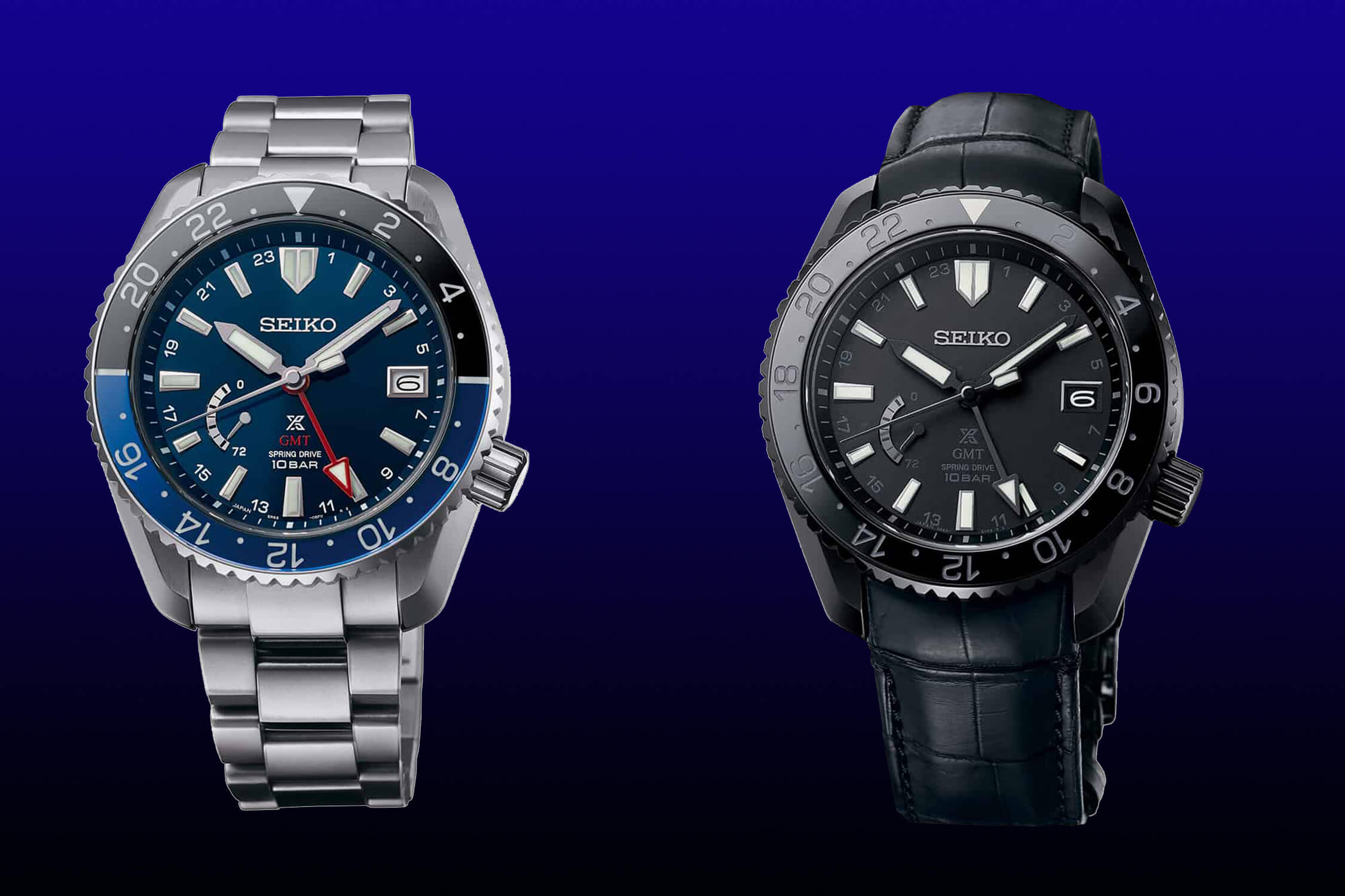Seiko Prospex LX SNR033 и SNR035