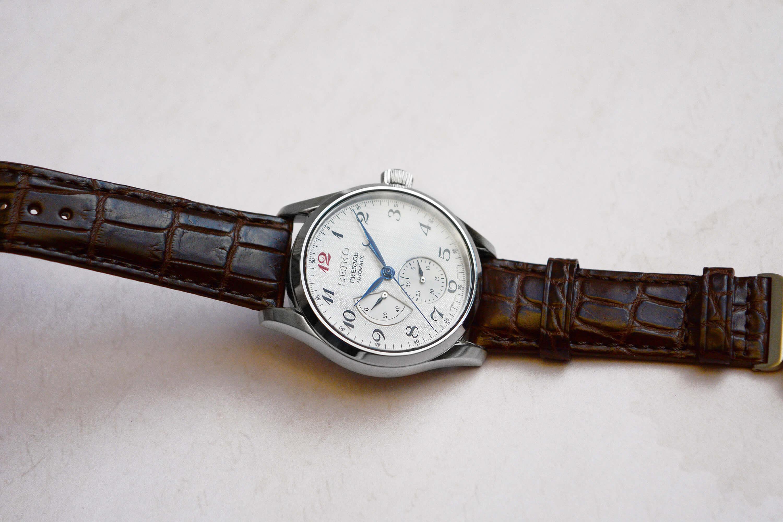 Циферблат японских часов Seiko SPB059J1