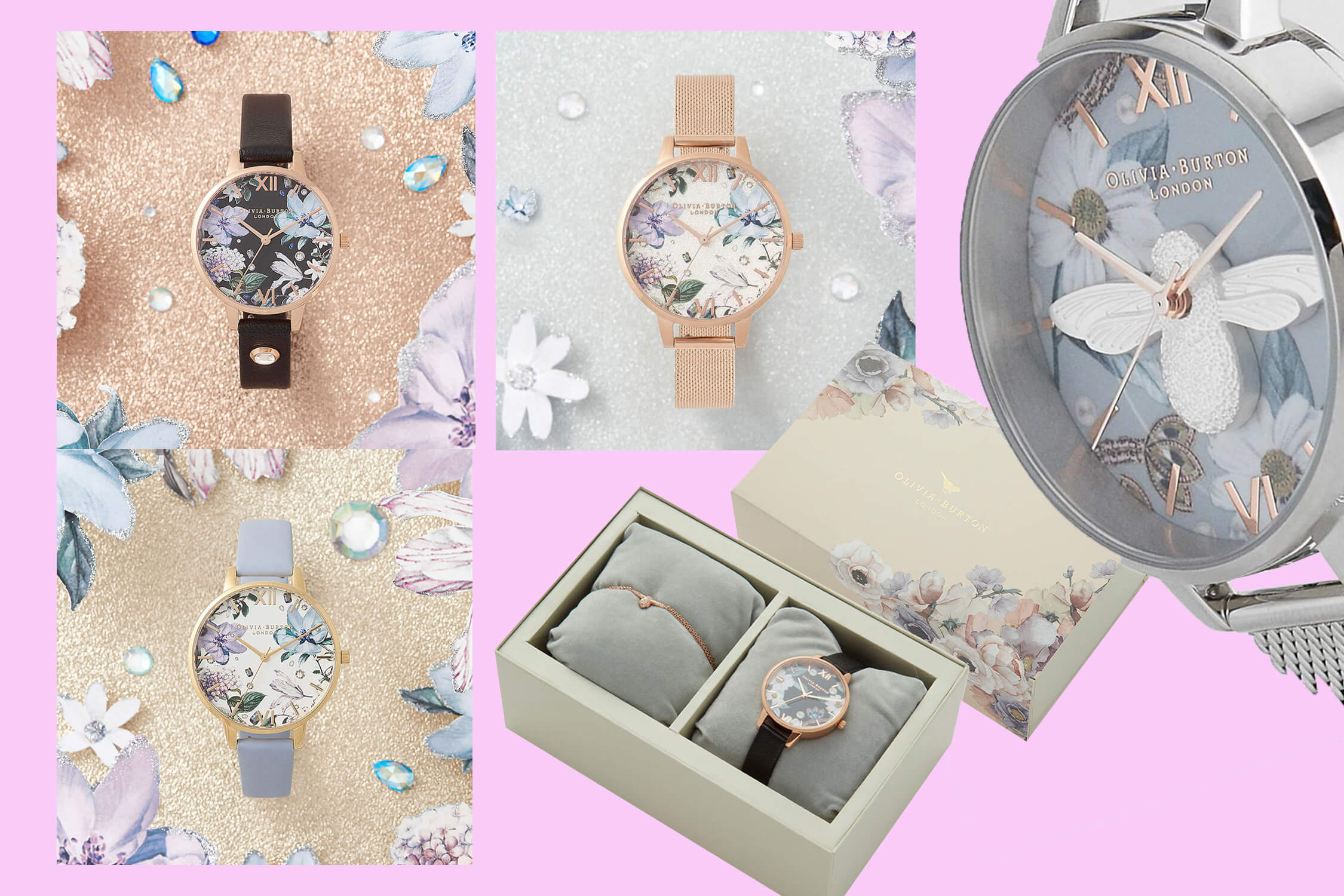 Olivia Burton Bejewelled florals