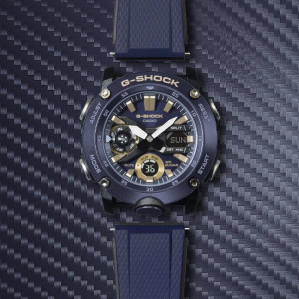 Мужские наручные часы CASIO G-Shock GA-2000-2AER - Фото № 13