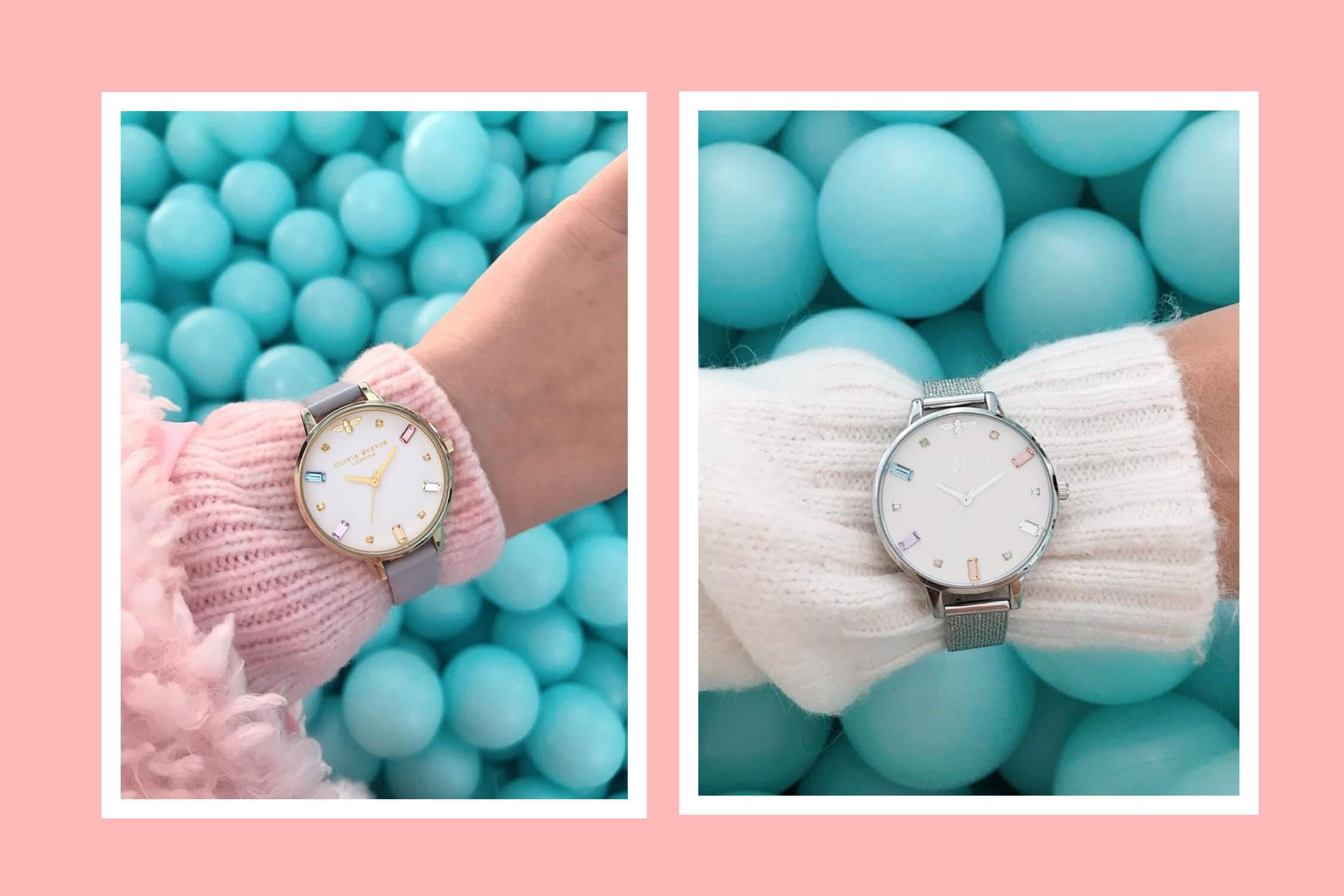 Часы Olivia Burton Rainbow bee