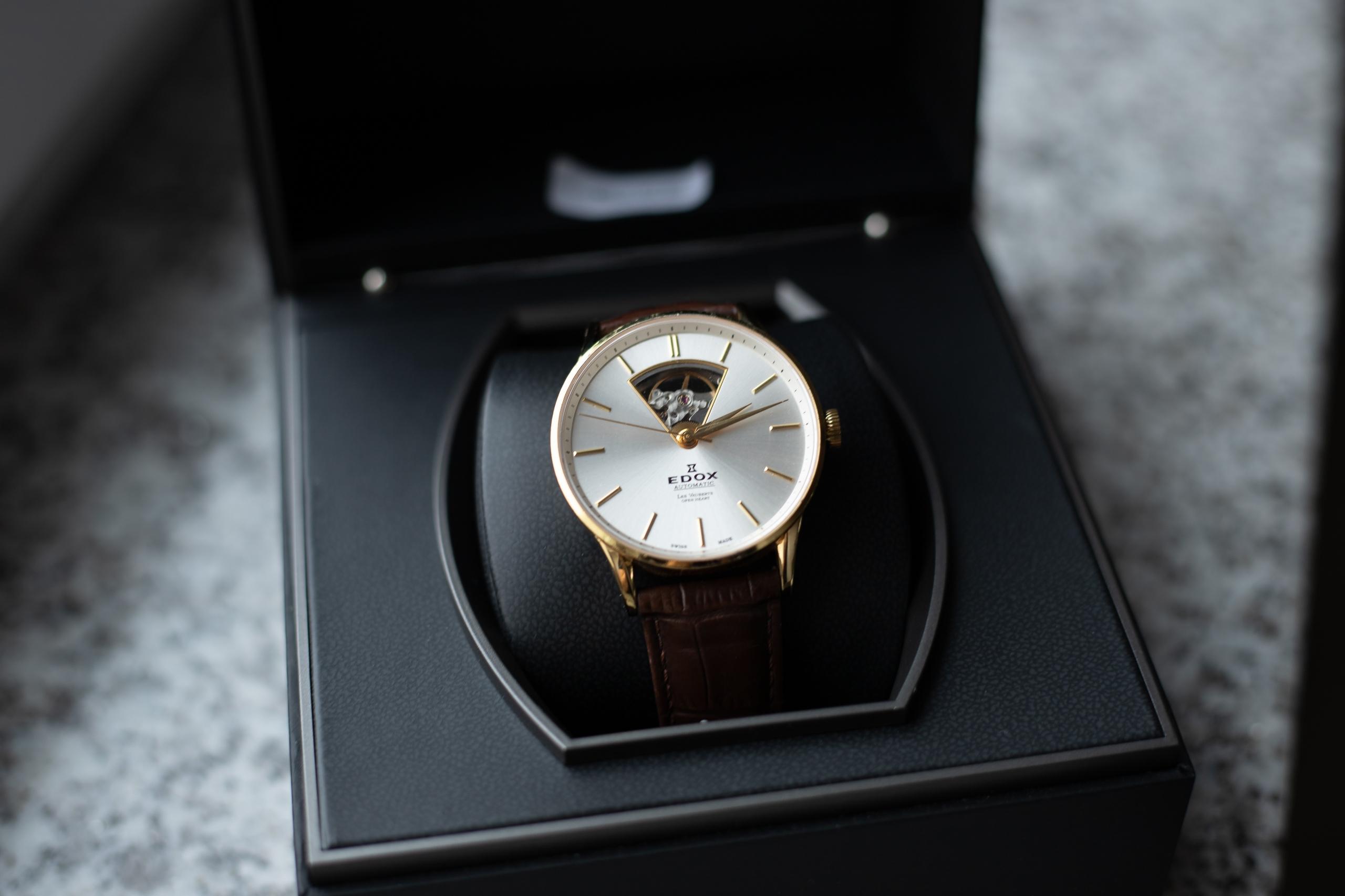 часы Edox Les Vauberts