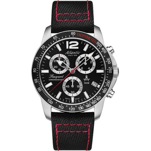 Мужские наручные часы ATLANTIC Seasport 87463.41.61NY
