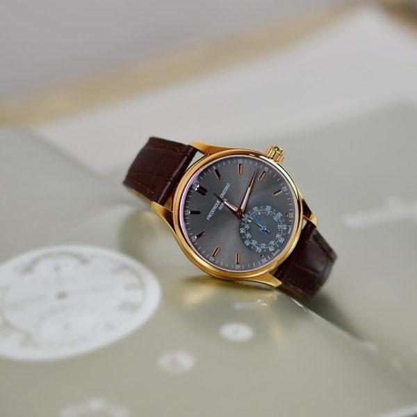 Мужские наручные часы Frederique Constant Horological Smartwatch FC-285LGS5B4 - Фото № 11