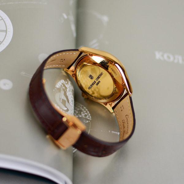 Мужские наручные часы Frederique Constant Horological Smartwatch FC-285LGS5B4 - Фото № 12