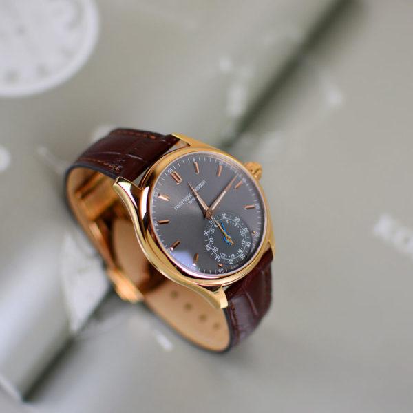 Мужские наручные часы Frederique Constant Horological Smartwatch FC-285LGS5B4 - Фото № 9