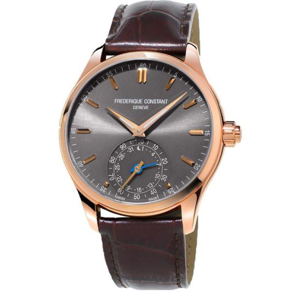 Мужские наручные часы Frederique Constant Horological Smartwatch FC-285LGS5B4 - Фото № 7