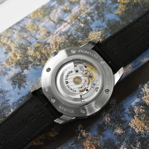 Мужские наручные часы MAURICE LACROIX Pontos PT6358-SS001-430-1 - Фото № 12