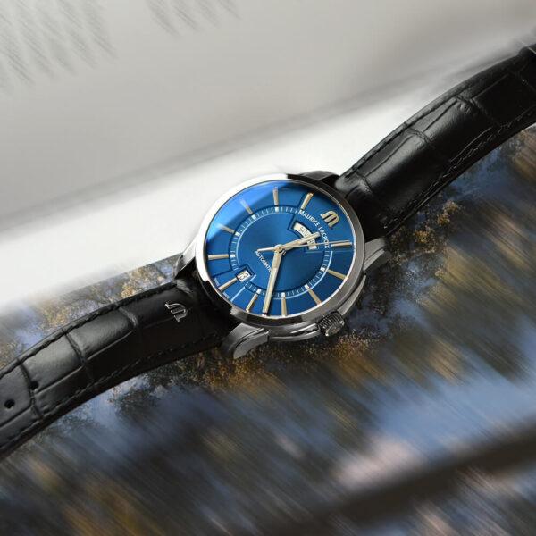Мужские наручные часы MAURICE LACROIX Pontos PT6358-SS001-430-1 - Фото № 9
