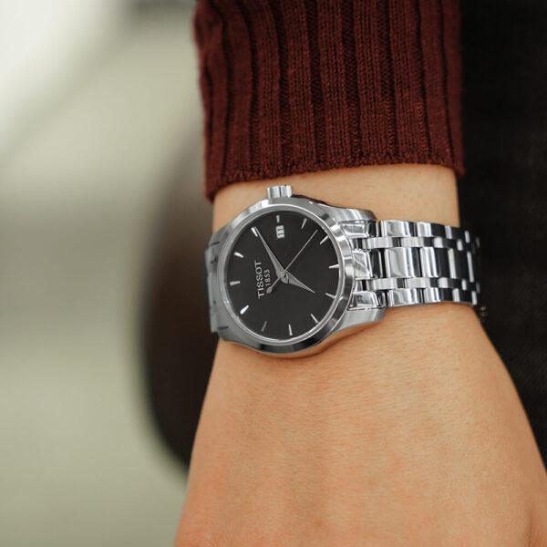Женские наручные часы TISSOT Couturier T035.210.11.051.01 - Фото № 8