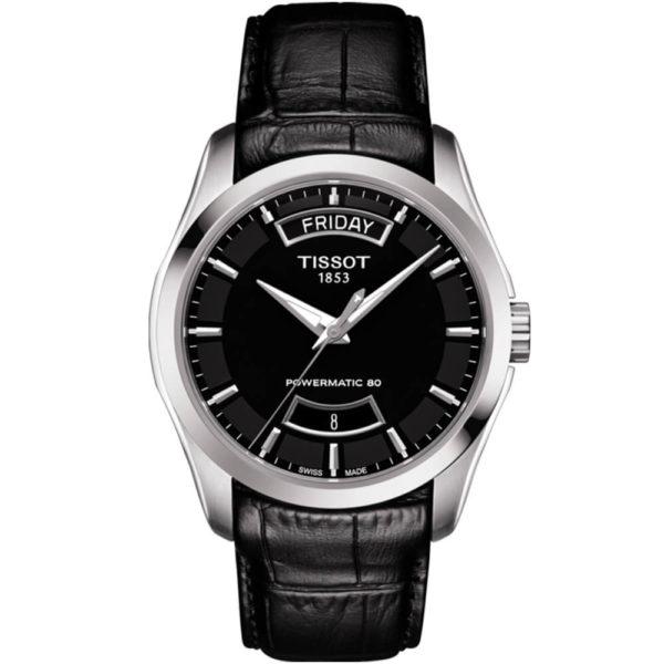 Мужские наручные часы TISSOT COUTURIER POWERMATIC 80 T035.407.16.051.02 - Фото № 9