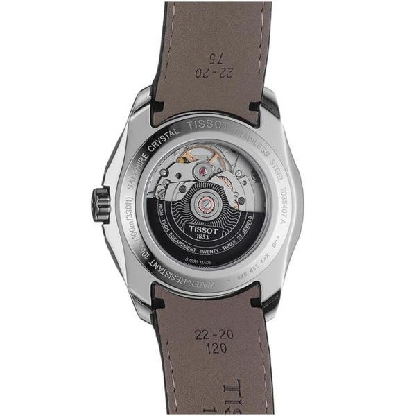 Мужские наручные часы TISSOT Couturier T035.407.16.051.02 - Фото № 9