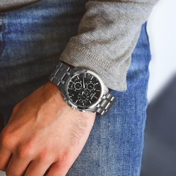 Мужские наручные часы TISSOT COUTURIER CHRONOGRAPH T035.617.11.051.00 - Фото № 8