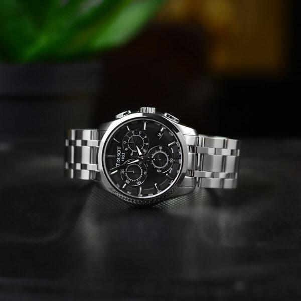 Мужские наручные часы TISSOT COUTURIER CHRONOGRAPH T035.617.11.051.00 - Фото № 10