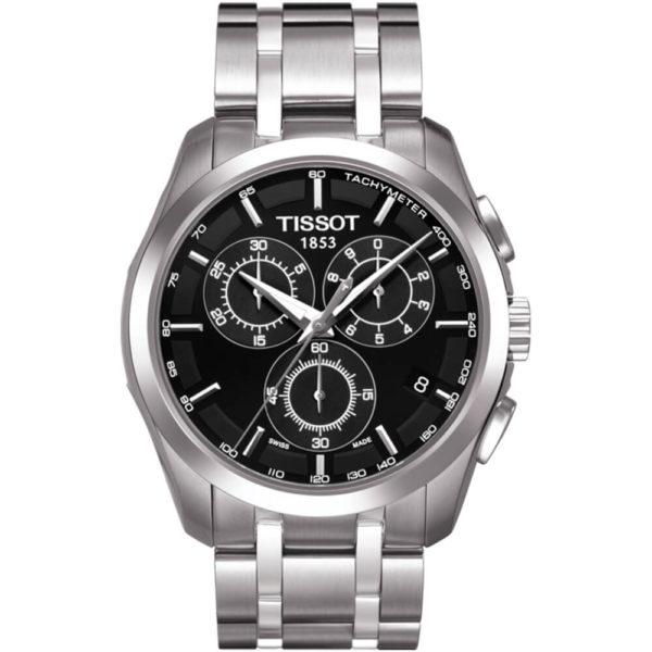 Мужские наручные часы TISSOT Couturier T035.617.11.051.00 - Фото № 5