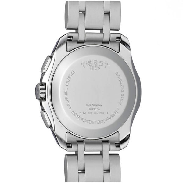 Мужские наручные часы TISSOT Couturier T035.617.11.051.00 - Фото № 8