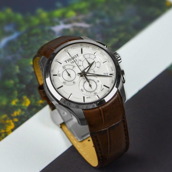 Мужские наручные часы TISSOT Couturier T035.617.16.031.00 - Фото № 8