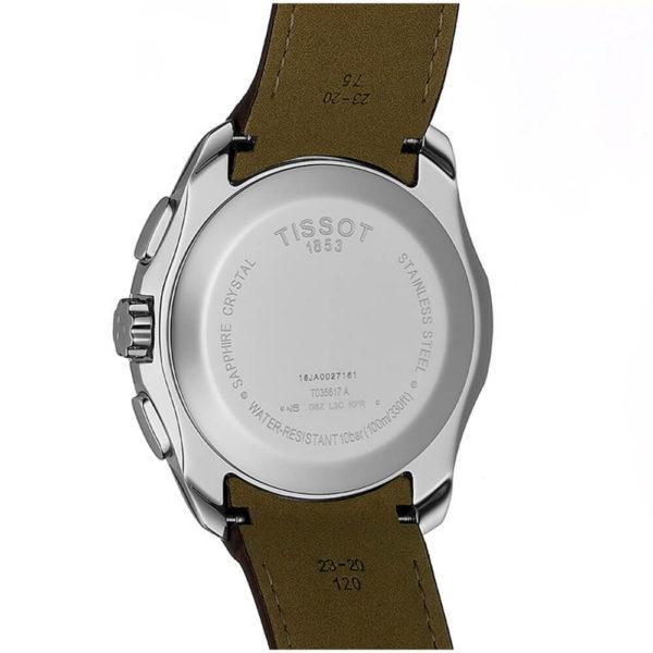 Мужские наручные часы TISSOT Couturier T035.617.16.031.00 - Фото № 10