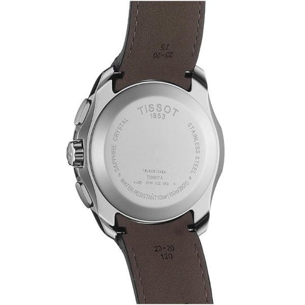 Мужские наручные часы TISSOT COUTURIER CHRONOGRAPH T035.617.16.051.00 - Фото № 9