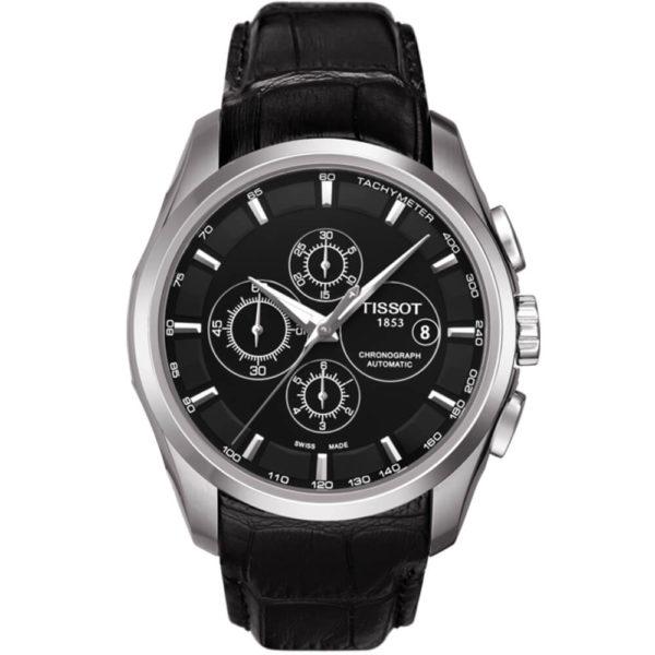 Мужские наручные часы TISSOT COUTURIER AUTOMATIC CHRONOGRAPH T035.627.16.051.00 - Фото № 6