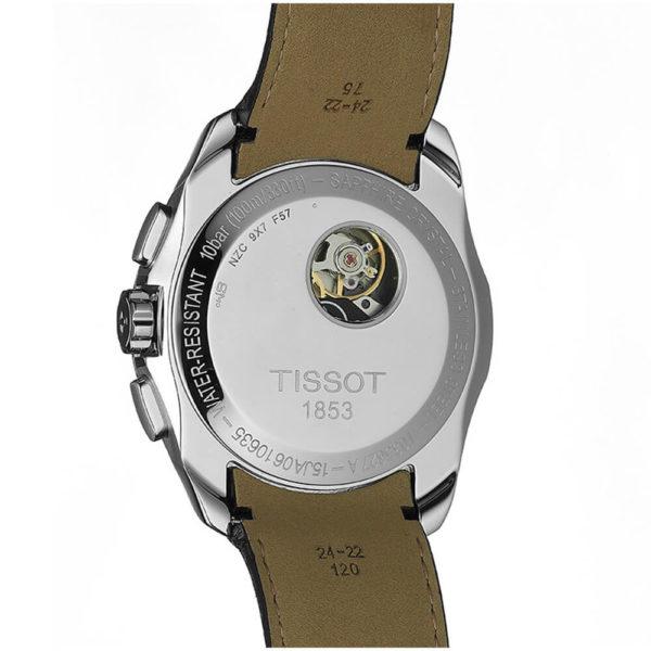 Мужские наручные часы TISSOT COUTURIER AUTOMATIC CHRONOGRAPH T035.627.16.051.00 - Фото № 10