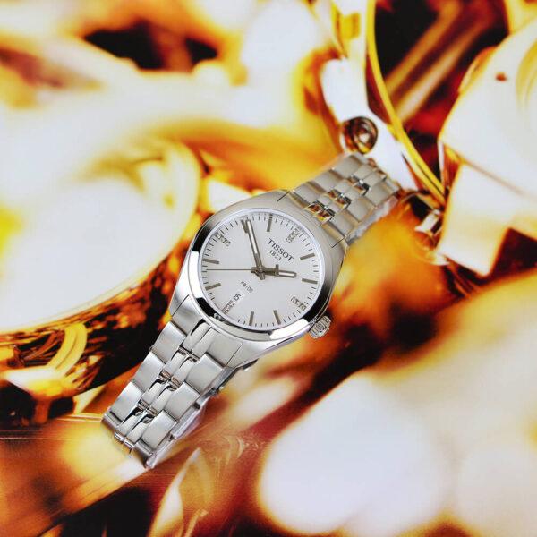 Женские наручные часы TISSOT PR 100 T101.210.11.036.00 - Фото № 13