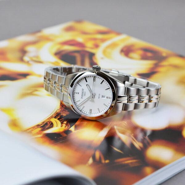 Женские наручные часы TISSOT PR 100 T101.210.11.036.00 - Фото № 11