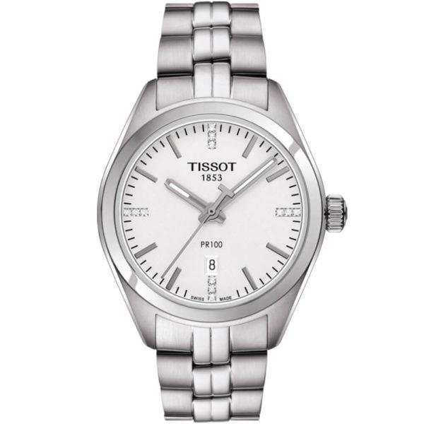 Женские наручные часы TISSOT PR 100 T101.210.11.036.00 - Фото № 5