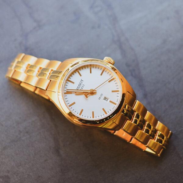 Женские наручные часы TISSOT PR 100 LADY T101.210.33.031.01 - Фото № 10