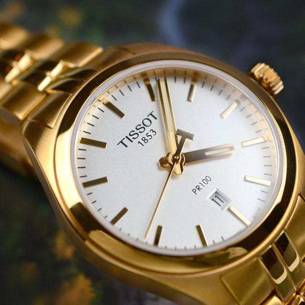 Женские наручные часы TISSOT PR 100 LADY T101.210.33.031.01 - Фото № 7