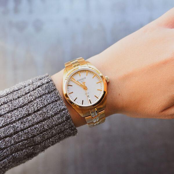 Женские наручные часы TISSOT PR 100 LADY T101.210.33.031.01 - Фото № 9