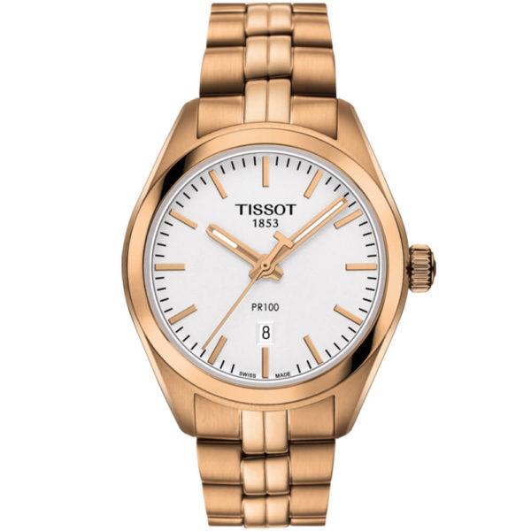Женские наручные часы TISSOT PR 100 LADY T101.210.33.031.01 - Фото № 5