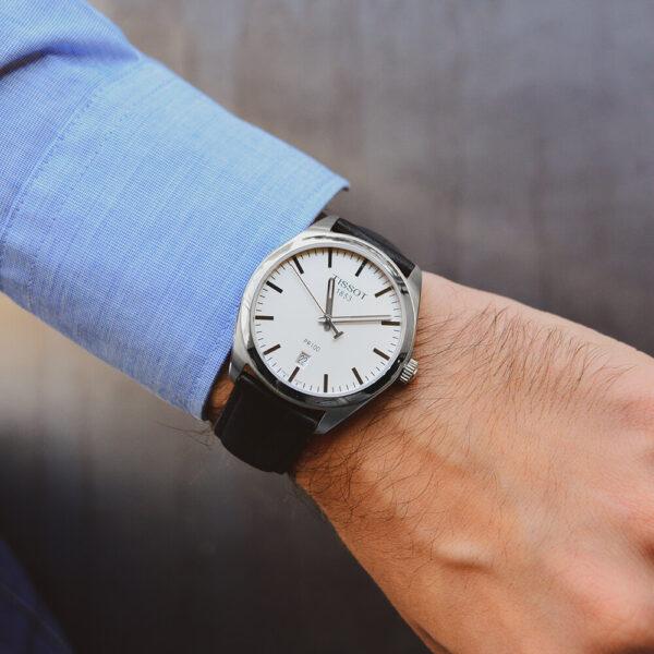 Мужские наручные часы TISSOT PR 100 T101.410.16.031.00 - Фото № 8