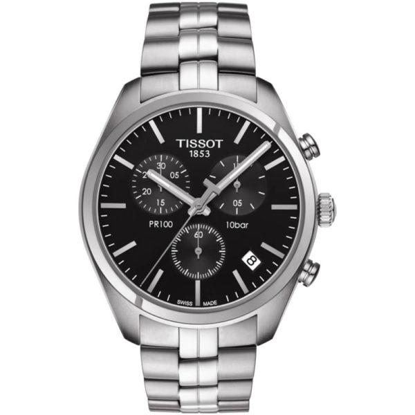 Мужские наручные часы TISSOT PR 100 T101.417.11.051.00 - Фото № 5
