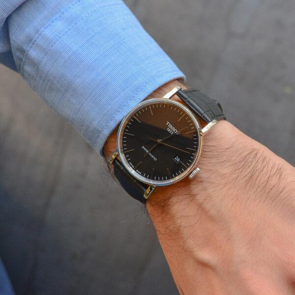 Мужские наручные часы TISSOT EVERYTIME SWISSMATIC T109.407.16.051.00 - Фото № 8