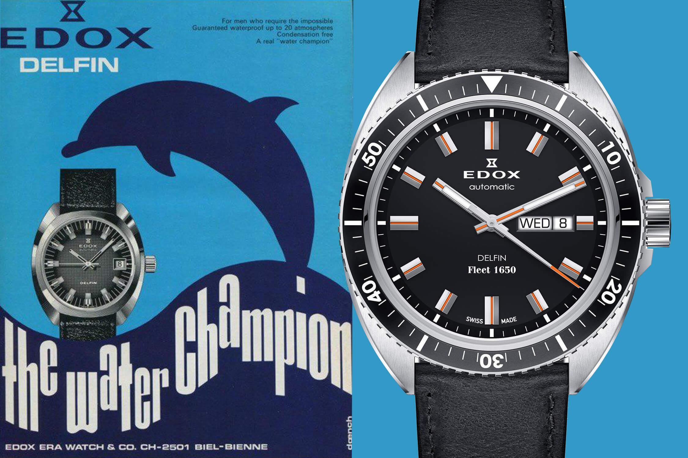 часы Edox delfin