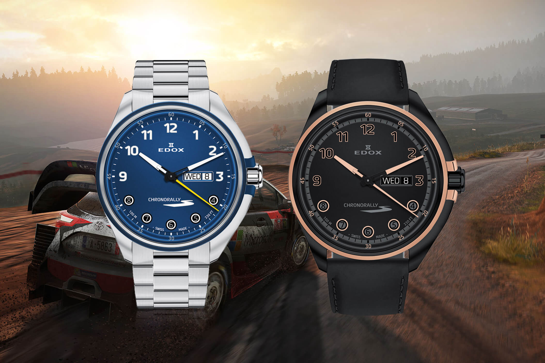 Edox Chronorally S The Driver's Instrument