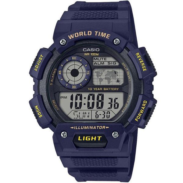 Мужские наручные часы CASIO Illuminator AE-1400WH-2AVEF