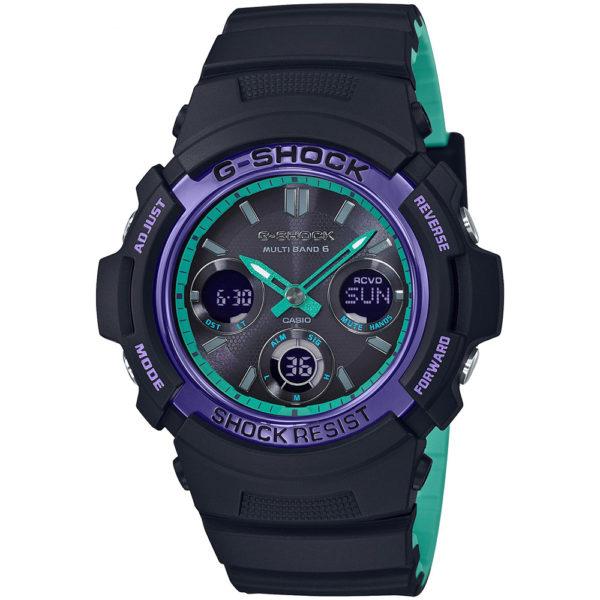 Мужские наручные часы CASIO  AWG-M100SBL-1AER