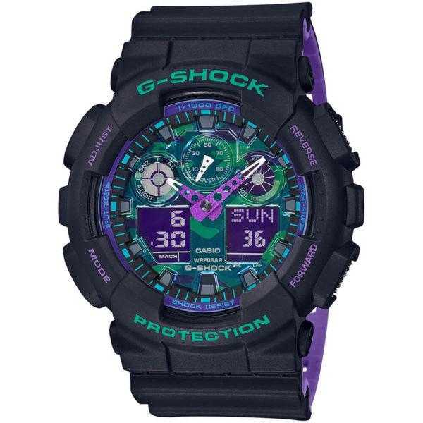 Мужские наручные часы CASIO G-Shock GA-100BL-1AER