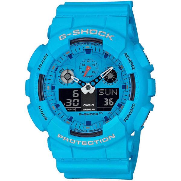Мужские наручные часы CASIO G-Shock GA-100RS-2AER