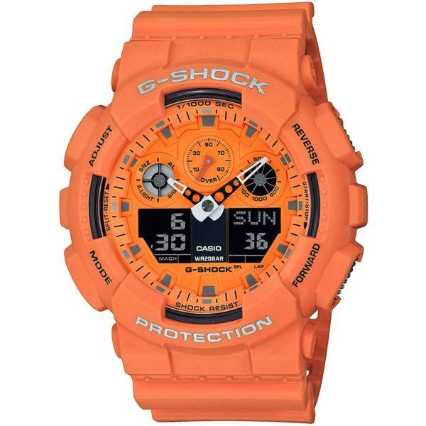 Мужские наручные часы CASIO G-Shock GA-100RS-4AER
