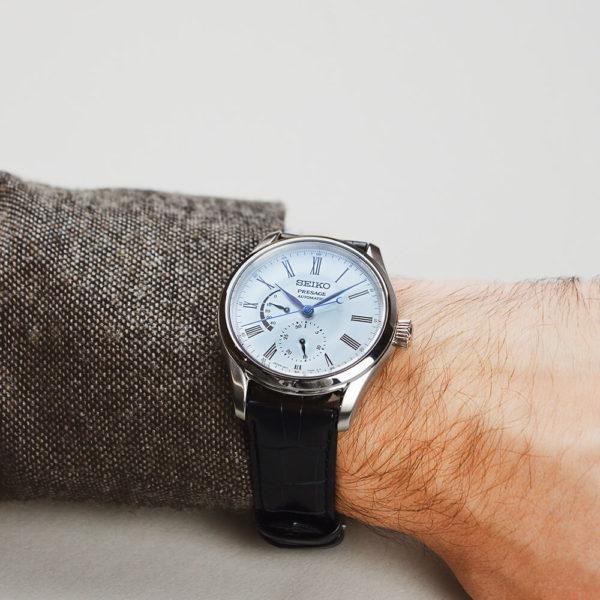 Мужские наручные часы SEIKO Presage Enamel Dial SPB045J1 - Фото № 15